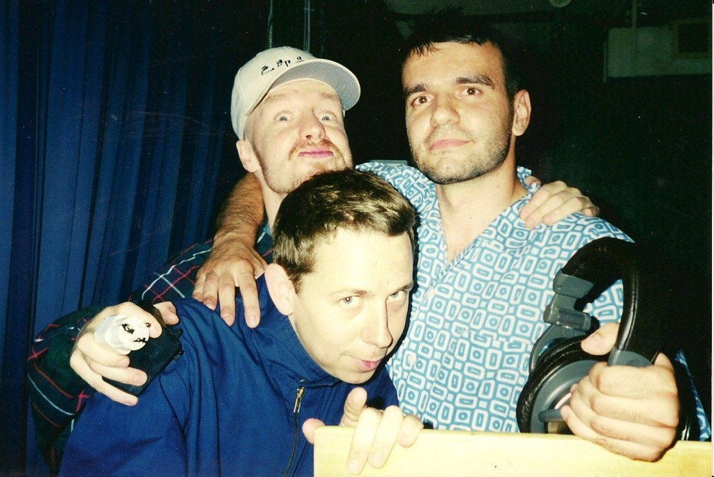 Clockwise from bottom: Gilles Peterson, Rob Gallagher, Paul E Lopes presented by Hot Stepper Productions. Photo courtesy of Hot Stepper.