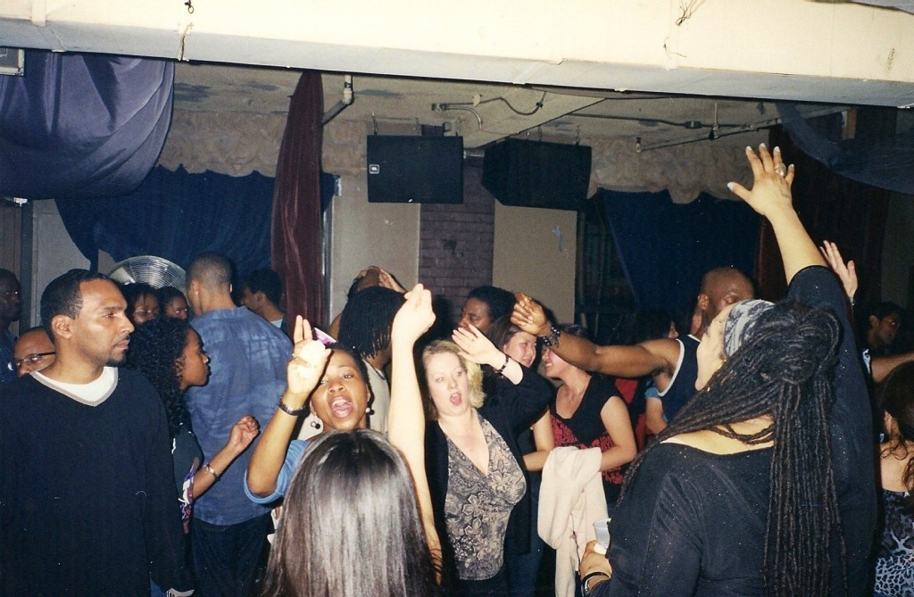 A Hot Stepper party goes off downstairs. Photo courtesy of Hot Stepper Productions.